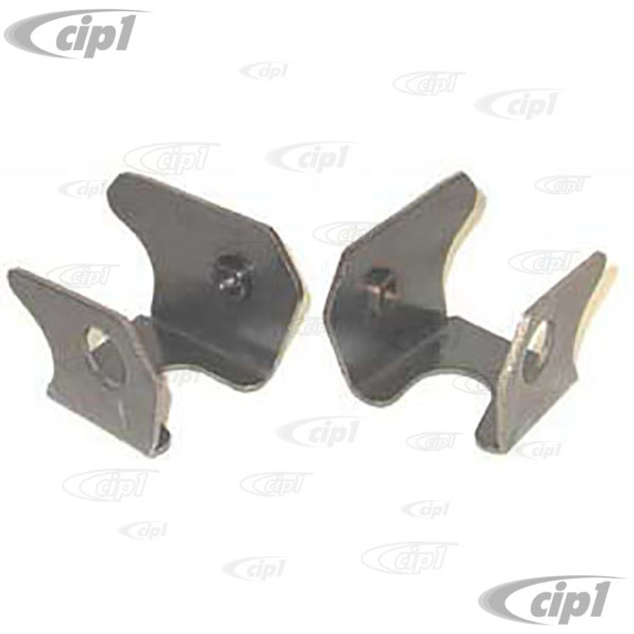 ACC-C10-4336 - IRS WELD-IN TRAILING ARM ADAPTER MOUNTS PAIR ALL SWING AXLE BEETLE / GHIA