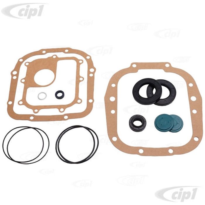 C24-002-398-005-AC - (002398005A) GERMAN MADE - DELUXE MANUAL TRANSMISSION GASKET SET WITH SEALS - BUS 68-69 TO CH# 219-020-134 - SOLD SET