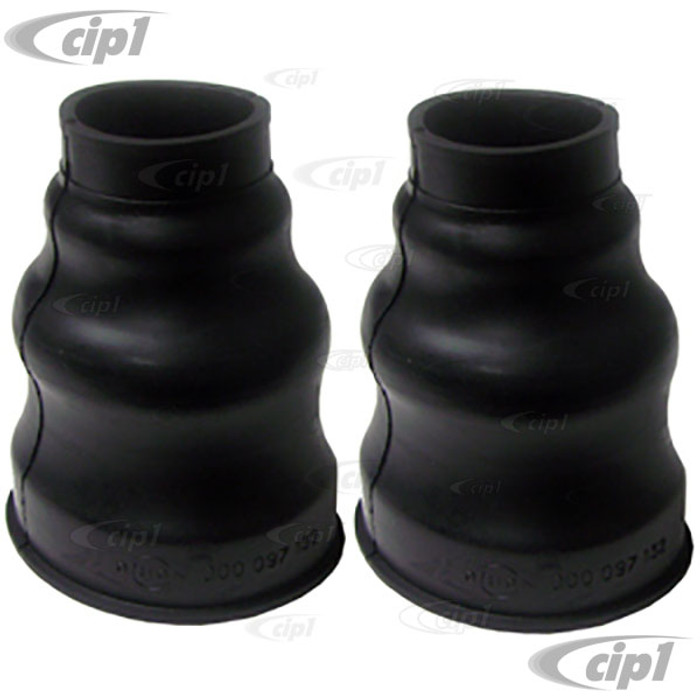 C24-111-501-151-PR - (111501151) EXCELLENT QUALITY FROM GERMANY - PAIR OF SWING AXLE BOOTS - NON SPLIT STYLE - ALL BEETLE/GHIA/TYPE-3/BUS WITH SWING AXLE - SOLD PAIR