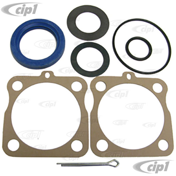 C24-111-598-051-A - (311598051 311-598-051) - GERMAN QUAILITY FROM GERMANY - REAR AXLE SEAL KIT - BEETLE 46-79 / GHIA 56-74 / BUS 50-67 / TYPE-3 62-74 / THING 73-74 - (1 KIT PER SIDE) - SOLD EACH