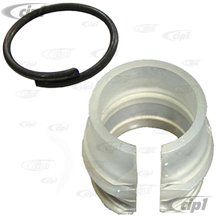 C24-111-701-259-ASET - OE QUALITY - SHIFT ROD BUSHING WITH CLIP - BEETLE 46-79 / GHIA 56-74 / BUS 50-66 - TYPE 3 62-74 / THING 73-74 - SOLD SET
