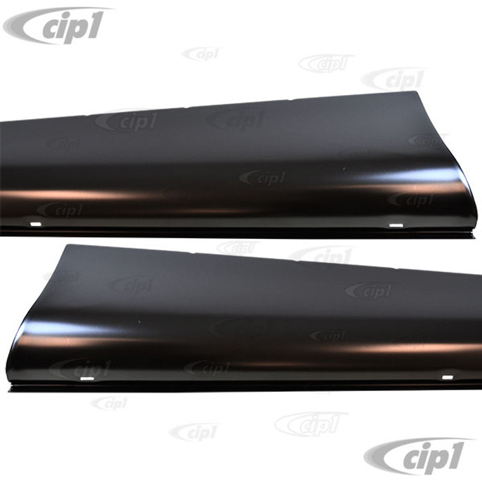 C24-111-821-509-APR - (111821509) EXCELLENT REPRODUCTION - PAIR OF LEFT/RIGHT METAL ONLY RUNNING BOARDS - BARE - SOLD EACH