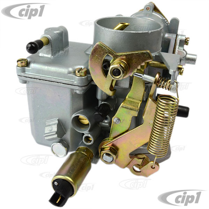 C24-113-129-029-A - (113129029 98-1225-B) PREMIUM QUALITY - 12-VOLT 30/31 PICT CARBURETOR WITH IDLE CUT OFF VALVE & VOLUME CONTROL SCREW (WITH ADAPTER) - FITS BEETLE/GHIA 67-70 (WITH ADAPTER TO FIT BEETLE/GHIA 71-74 - BUS 1971) - SOLD EACH
