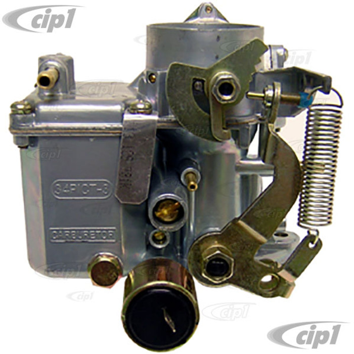 C24-113-129-031-K - (113129031K) EUROMAX BRAND - 34 PICT-3 CARBURETOR WITH 12V CHOKE - BEETLE/GHIA 71-74/BUS 1971 (WILL FIT BOTH GENERATOR & ALTERNATOR ENGINES) - SOLD EACH