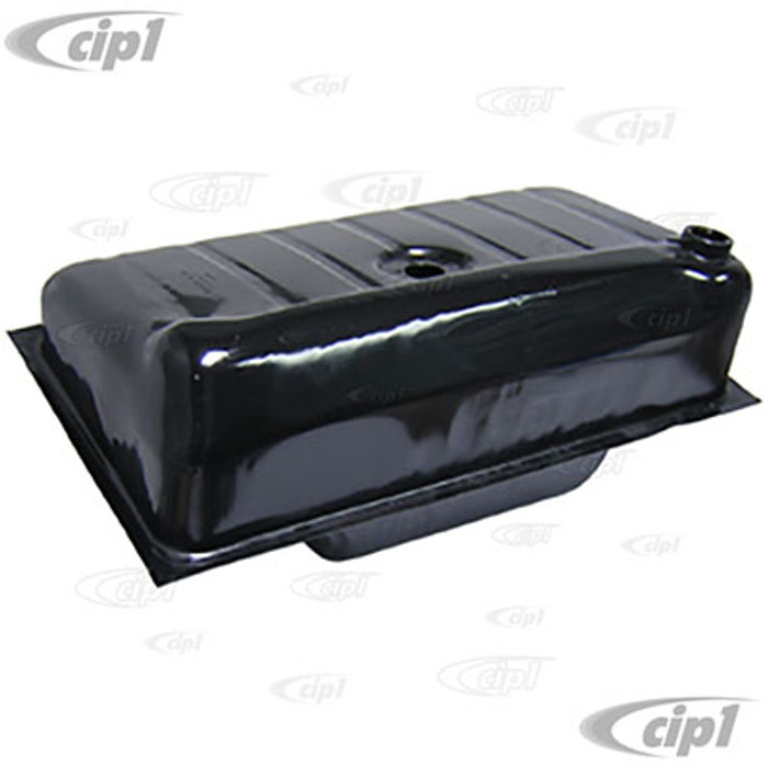 C24-113-201-075-ABXL - (113201075AB EMPI 95-2004-B) EXCELLENT QUALITY - HIGH CAPACITY 12.5 GALLON GAS TANK (UNDER HOOD FILLER STYLE) - STANDARD BEETLE 61-77 / GHIA 61-74 / VW THING 73-74 - SOLD EACH