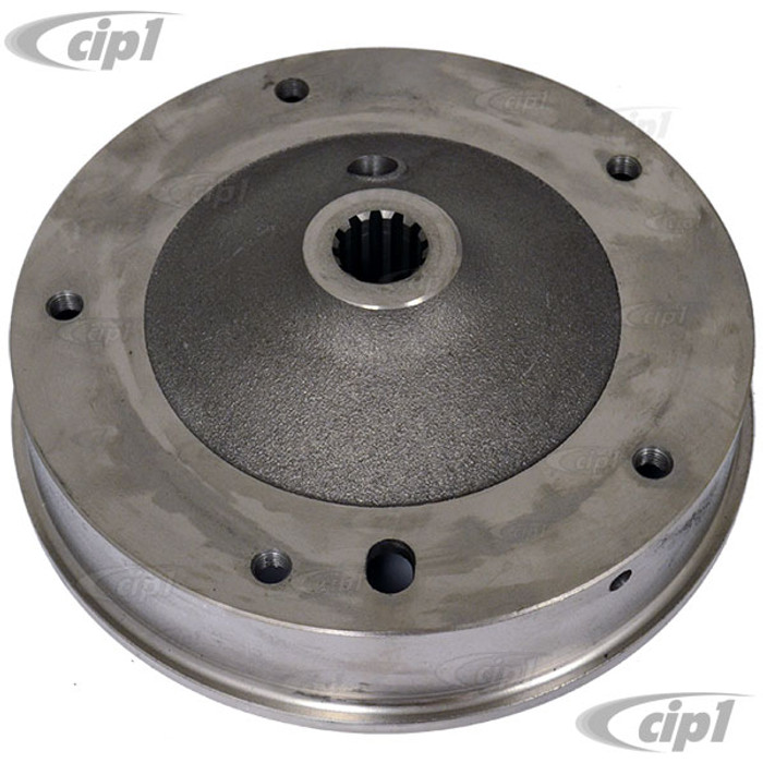 C24-113-501-615-A - (113501615A) MADE IN GERMANY - REAR BRAKE DRUM - BEETLE/GHIA 49-57 (ALSO 1958 THRU CHASSIS #16173410) - SOLD EACH