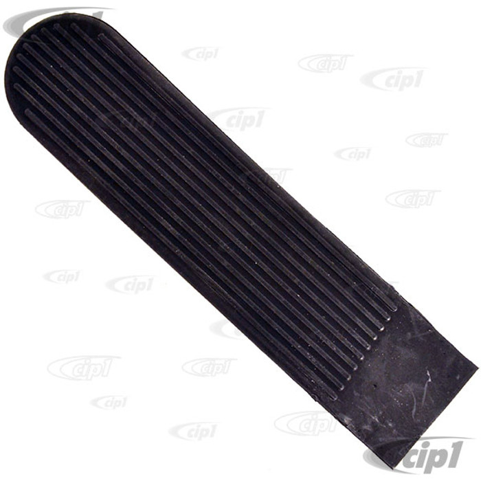 C24-113-721-647-AGR - (113721647A) MADE IN GERMANY - ACCELERATOR PEDAL PAD - BEETLE 58-79 / GHIA 58-74 / TYPE-3  62-74 / THING 73-74 - SOLD EACH