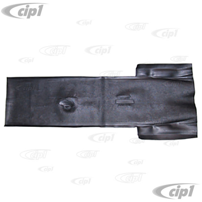 C24-113-863-311-C - (113863311C) BLACK RUBBER TUNNEL ONLY MAT - BEETLE 56-59 (SEE NOTES ABOUT COLOR) - SOLD EACH