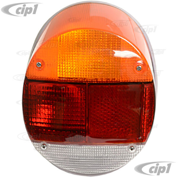 C24-133-945-098-A - (133945098A - 98-9456) GOOD QUALITY - COMPLETE TAIL LIGHT ASSEMBLY (OE 4 BULB STYLE WITH WIRING HARNESS) - RIGHT SIDE - BEETLE 73-79 / THING 73-74 - SOLD EACH