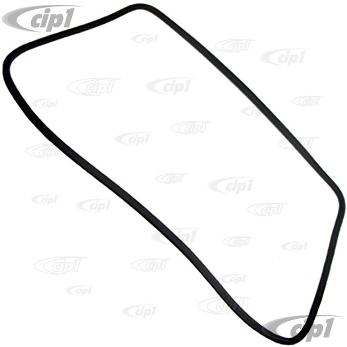 C24-171-845-121 - (171845121) GENUINE GERMAN - FRONT WINDSHIELD SEAL WITH MOLDING CORNERS - WITHOUT GROOVE FOR CHROME - MK1 RABBIT/JETTA 75-84 - RABBIT/CABRIO 79-89 - PICK-UP/CADDY 79-92 - SOLD EACH