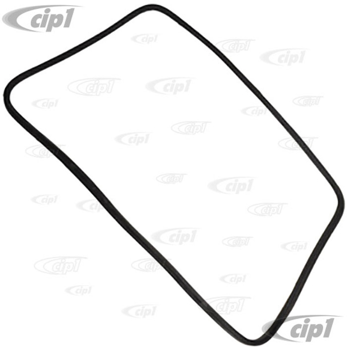 C24-171-845-521 - GENUINE GERMAN - REAR WINDSHIELD SEAL WITH MOLDING CORNERS - WITHOUT GROOVE FOR CHROME - RABBIT 75-84