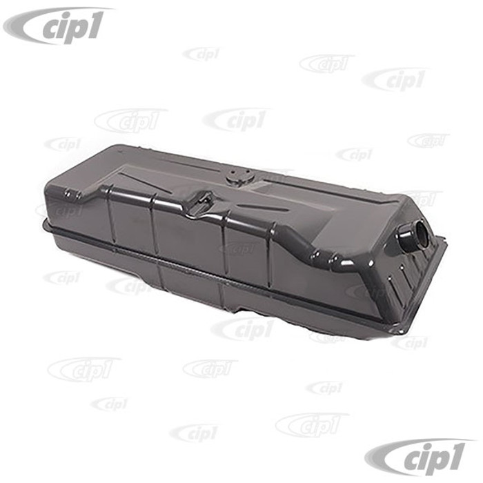 C24-211-201-075-D - (211201075D) EXCELLENT QUALITY REPRODUCTION - GAS/FUEL TANK - WITH CORRECT INTERNAL BAFFLES AND FILLER INLET - POWER COATED GREY - BUS 68-71 - SOLD EACH