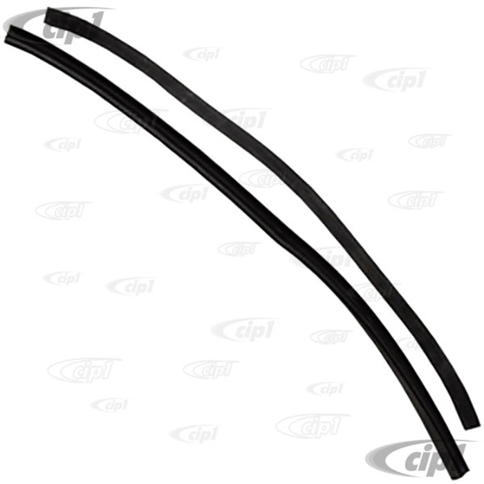 C24-211-837-629-PR - PAIR OF GERMAN QUALITY VENT WINDOW FLAP SEALS - FIT LEFT AND RIGHT - BUS 53-67 SOLD PAIR