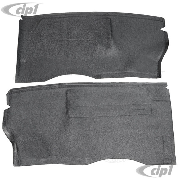 C24-211-863-665-B - (211863665B) SEAT STAND RUBBER MAT SET - BLACK – FOR LEFT AND RIGHT SEATS – BUS 68-79 (SEE NOTES ABOUT COLOR) - SOLD PAIR