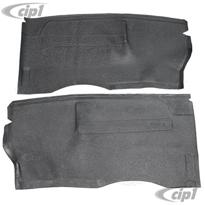 C24-211-863-665-BGY - (211863665BGY) SEAT STAND RUBBER MAT SET - GREY – FOR LEFT AND RIGHT SEATS – BUS 68-79 (SEE NOTES ABOUT COLOR) - SOLD PAIR