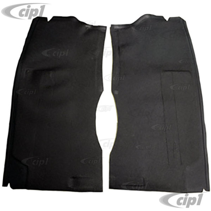 C24-234-863-665-BGY - (234863665B) SEAT STAND RUBBER MAT SET - GREY – FOR LEFT AND RIGHT SEATS – BUS 68-79 (SEE NOTES ABOUT COLOR) - SOLD PAIR