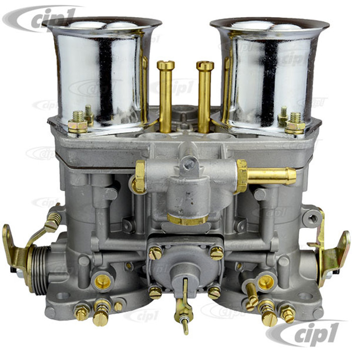 C26-129-544 - PREMIUM QUALITY - REPLACEMENT 44MM IDF / HPMX REPLACEMENT CARBURETOR ONLY WITH CHROME STACKS - SOLD EACH