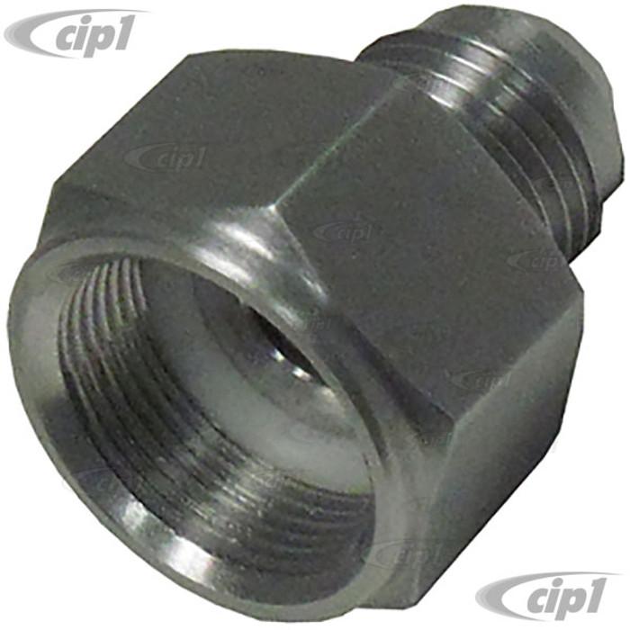 C26-201-209-6 - #6 AN VW GAS TANK FITTING  - STANDARD BEETLE 62-77 / GHIA 62-74 / TYPE 3 62-67 / THING 73-74