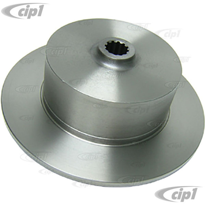 C26-501-913N - BLANK REAR DISC BRAKE ROTOR - SHORT AXLE BEETLE/GHIA 60-67 (BEETLE/GHIA 68-79 WITH SPACER) - UN-DRILLED - MACHINING REQUIRED - SOLD EACH - (A20)