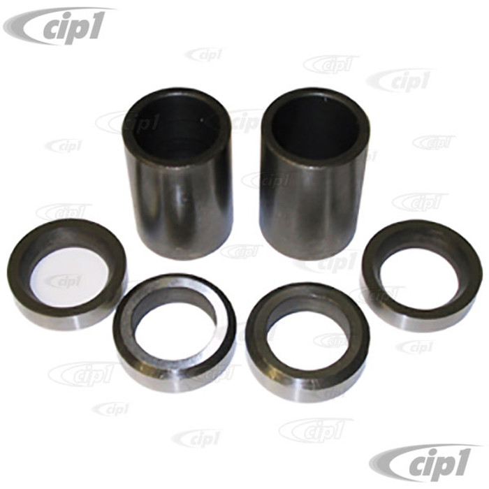 C26-520-101 - I.R.S. STUB AXLE SPACER - 6 PIECE SET - ALL BEETLE WITH I.R.S. - FITS INSIDE BRG CAP