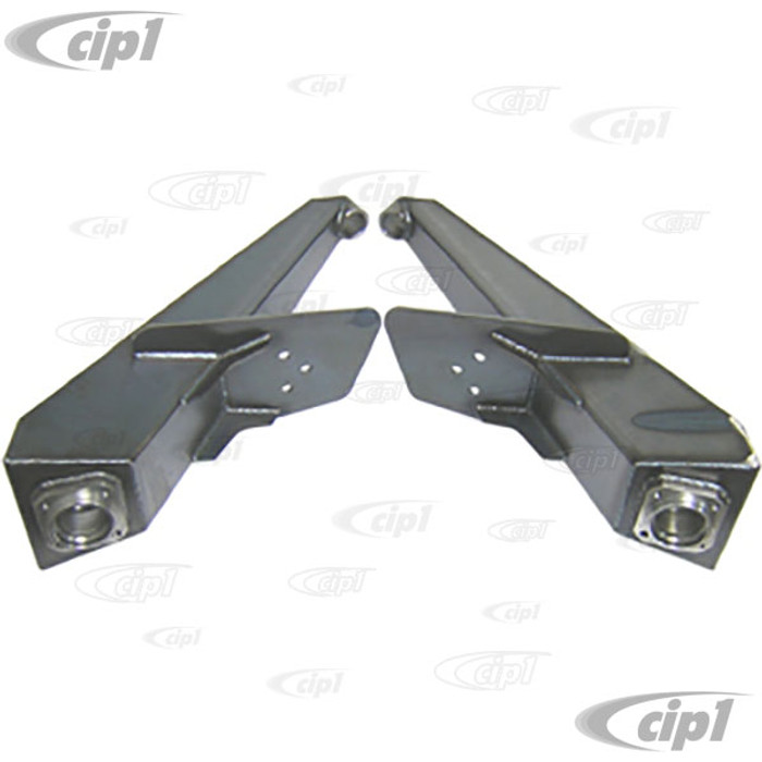 C26-530-015E - STANDARD BOXED 3X3 REAR IRS TRAILING ARM DOG LEGS - 3 INCH WIDER - 3 INCH LONGER THAN STOCK - SOLD PAIR - (A30)