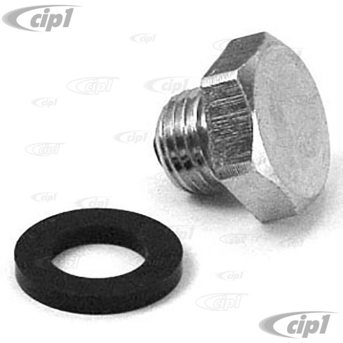 ACC-C10-5242 - MAGNETIC OIL DRAIN PLUG - ALL 25HP-1600CC BEETLE STYLE ENGINES 1946-1979