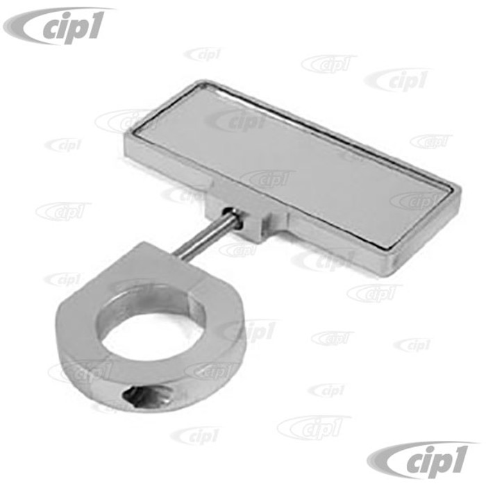 C26-857-840 - BILLET CLAMP-ON MIRROR FOR 1 1/2 IN TUBING