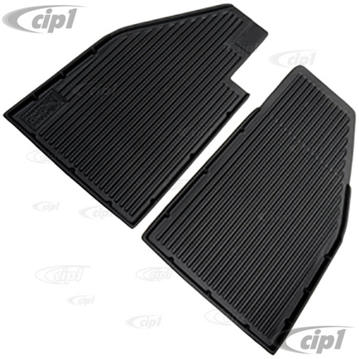 C26-863-910 - MADE IN THE USA - 2 PIECE KUHLTEK ALL WEATHER FLOOR LINERS - BEETLE 58-72 - FRONT PAIR