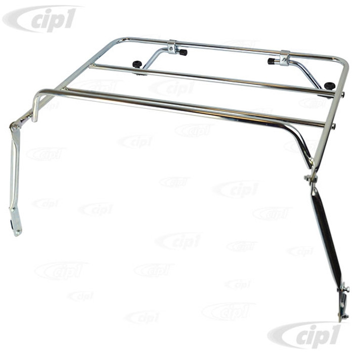 C26-898-510  - IMPORTED FROM GERMANY - BRILLIANT ZINC-COATED DECK LID LUGGAGE RACK - ALL BEETLE SEDAN AND CONVERTIBLE 68-73 - SOLD EACH
