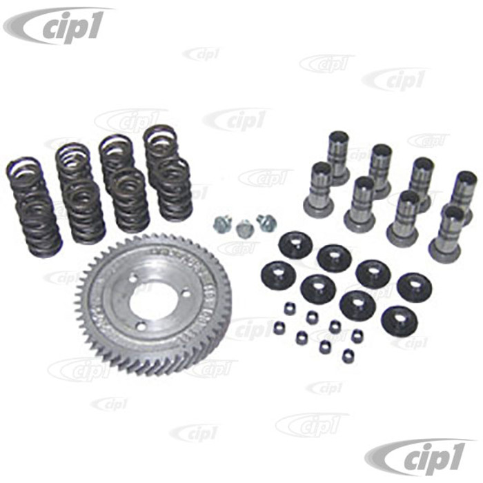 ACC-C10-5260-S - COMPLETER CAM KIT - FOR 12-1600CC HP CAMS - KIT INCLUDES GEAR/LIFTERS/SINGLE VALVE SPRINGS/RETAINERS/KEEPERS