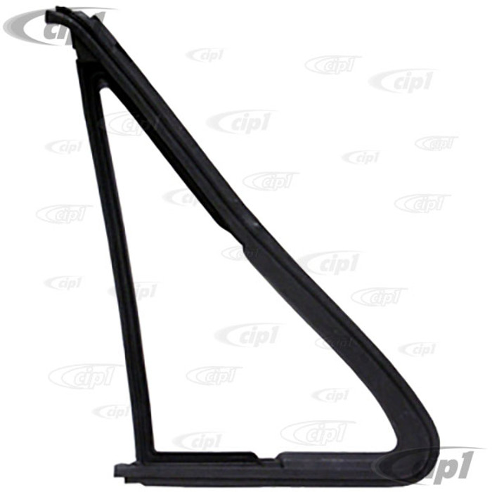 C27-251-837-626-A - RIGHT VENT WINDOW SEAL IN DOOR -  FOR OPENING VENT - WITHOUT CHROME GROOVE VANAGON 80-92 EACH
