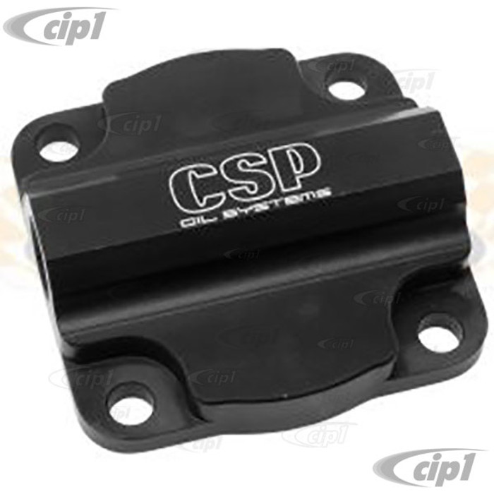 C31-115-141-138A - CSP BILLET OIL PUMP COVER WITH 3/8 INCH NPT OUTLET