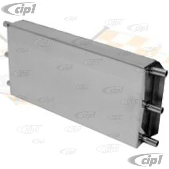 C31-115-451-180 - POLISHED STAINLESS STEEL BREATHER BOX WITH 6 TUBE/FITTINGS - SOLD EACH