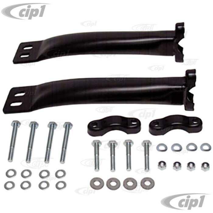 C31-498-001-111A - CSP MADE IN GERMANY - FRONT BEAM SUSPENSION STIFFENER KIT - ALL BALL-JOINT AND KING-PIN BEETLE/GHIA (NOT FOR SUPER BEETLE) - SOLD KIT