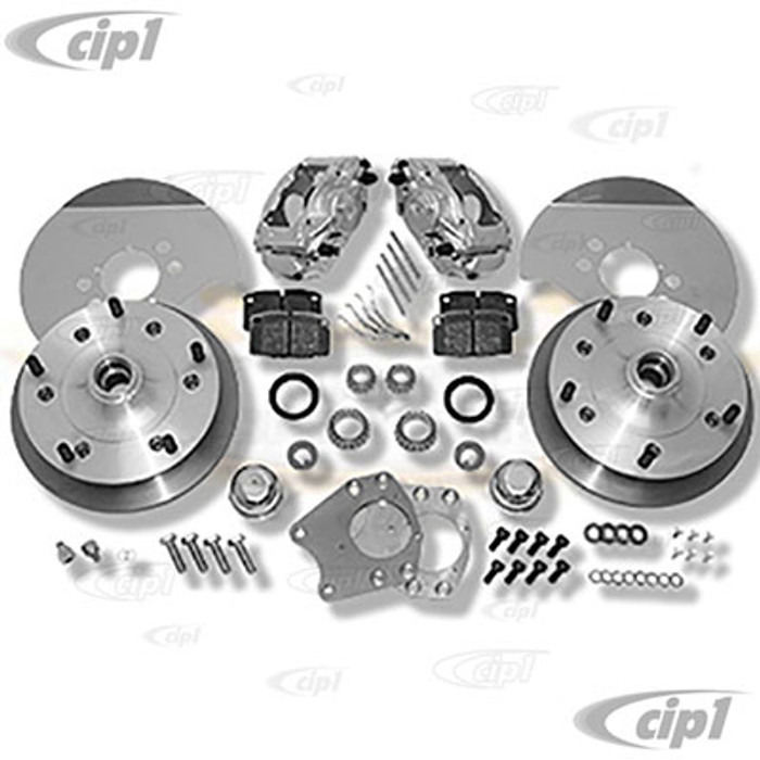 C31-499-181-5205 - CSP MADE IN GERMANY - 73-74 THING BOLT-ON (DRUM SPINDLE) DISC BRAKE KIT - WITH 5x205MM BOLT PATTERN - WITH ZERO OFF-SET - (A50)