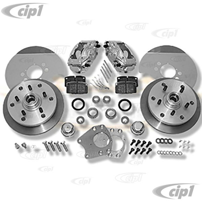 C31-499-263-5130 - CSP MADE IN GERMANY  - 55-63 BUS /TYPE-2 5X130MM BOLT-ON DISC BRAKE KIT - (A50)