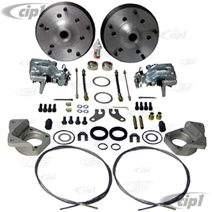 C31-599-168-5205 - CSP MADE IN GERMANY - 68-SWINGAXLE BEETLE 5X205MM REAR DISC BRAKE KIT - (A50)