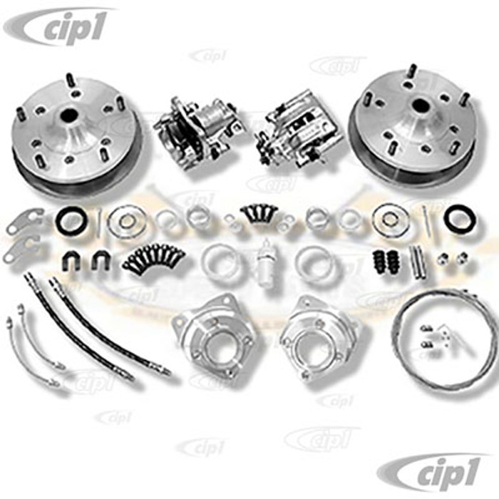 C31-599-168-5205S - CSP MADE IN GERMANY - 5X205MM REAR DISC BRAKE KIT - ALL I.R.S. MODELS 68-79 - BEETLE 68-79 / GHIA 68-74 / TYPE-3 68-73 / VW THING - SOLD KIT