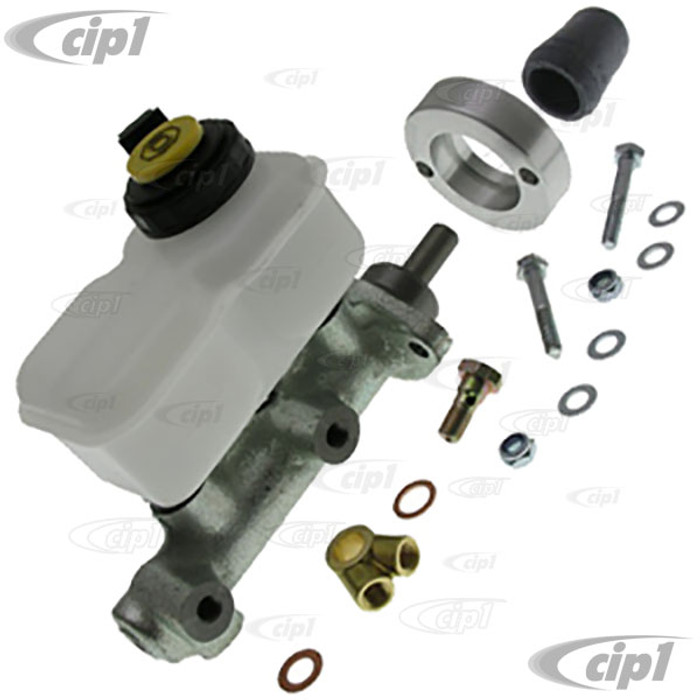 C31-611-021-211-14 - CSP MADE IN GERMANY - COMPLETE DUAL CIRCUIT MASTER CYLINDER CONVERSION KIT - 22.2MM MASTER CYLINDER W/ADAPTER AND HARDWARE FOR 55-67 BUS WITH CSP DISC BRAKES