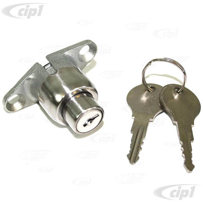 C33-S00416 - (211829231C - 211-829-231C) - GERMAN QUALITY FROM C&C U.K. - REAR HATCH PUSH BUTTON LOCK WITH KEYS - BUS 64-66 - SOLD EACH