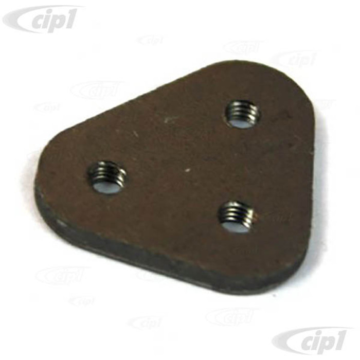 C33-S00468 - (221847082T - 221-847-082T) - GERMAN QUALITY FROM C&C U.K. - POP OUT CATCH FIXING PLATE WITH SCREW THREAD - BUS 55-67 - SOLD EACH