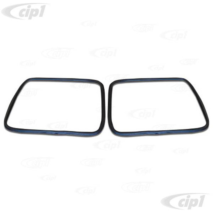 C33-S00471 - (211845121 - 211-845-121) - GERMAN QUALITY FROM C&C U.K. - FRONT SCREEN SEALS - BUS 55-67 - SOLD PAIR