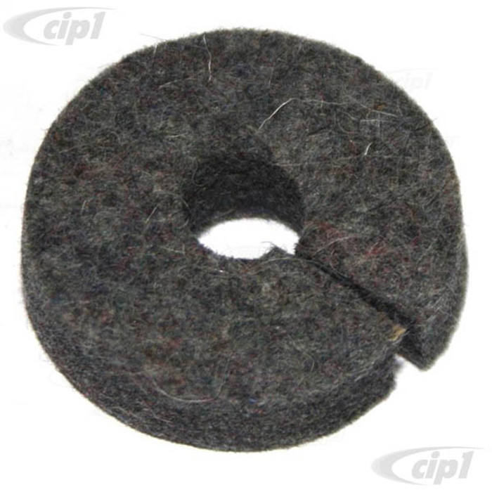 C33-S00848 - (211721383 - 211-721-383) - GERMAN QUALITY FROM C&C U.K. - BRAKE AND CLUTCH PEDAL FELT SEALING PAD - BUS 55-59 - SOLD EACH