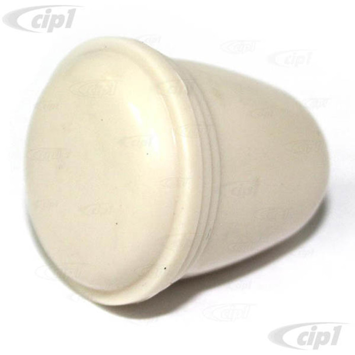 C33-S00891 - (113941541IV - 113-941-541IV) - GERMAN QUALITY FROM C&C U.K. - IVY DASH KNOB - 5MM - HEADLIGHT/ASHTRAY AND VARIOUS - SEE NOTES - BEETLE 52-66/GHIA 56-66/BUS 55-66/TYPE-3 65-66 - SOLD EACH - SOLD EACH