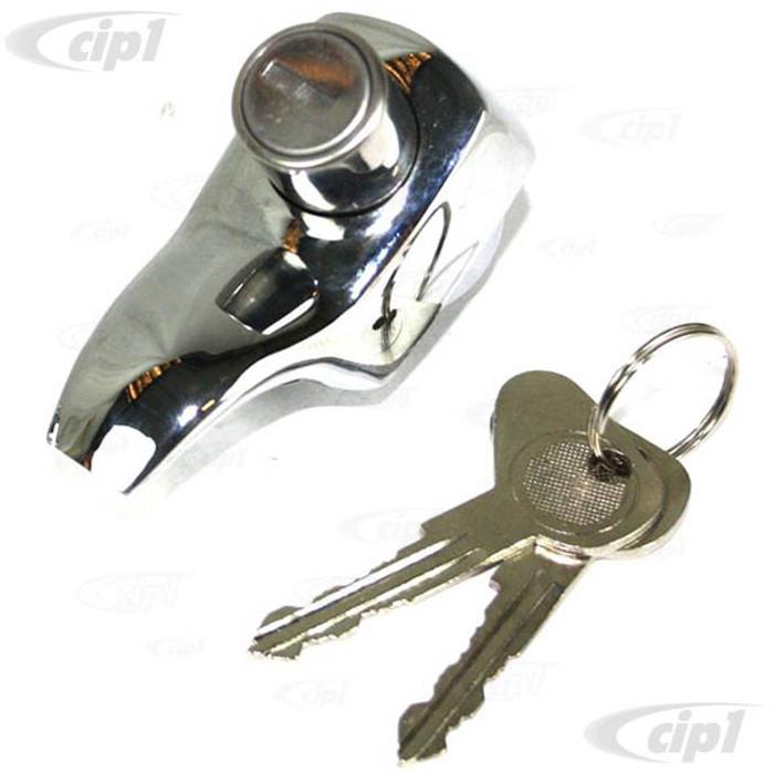 C33-S01640 - (211829231G - 211-829-231G) - GERMAN QUALITY FROM C&C U.K. - CHR/LOCKING REAR HATCH HAND - BUS 68-71 - SOLD EACH