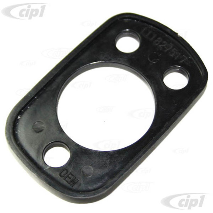 C33-S27128 - (111827517 - 111-827-517) - GERMAN QUALITY FROM C&C U.K. - SEAL FOR ENGINE LID LOCK - BEETLE 8/64-7/65 - BUS 1967 - SOLD EACH