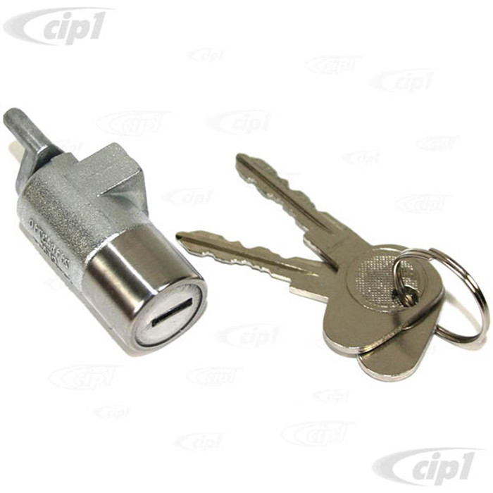 C33-S33456 - (211843710 - 211-843-710) - GERMAN QUALITY FROM C&C U.K. -  LOCK BARREL AND KEY FOR LHD FOR RIGHT DOOR 73-79 - SOLD EACH