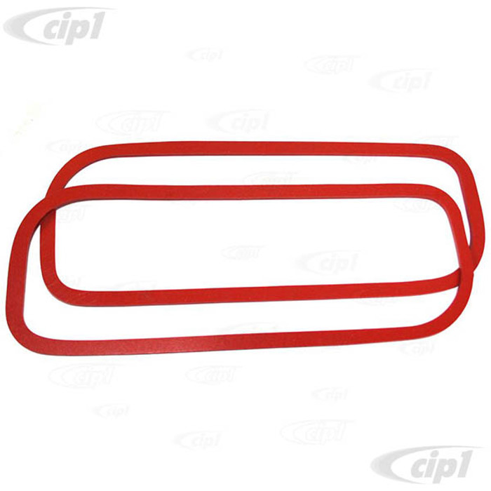C33-S36775 - (021101481 - 021-101-481) - GERMAN QUALITY FROM C&C U.K. - SILICONE ROCKER COVER GASKETS 17-2000CC - SOLD PAIR