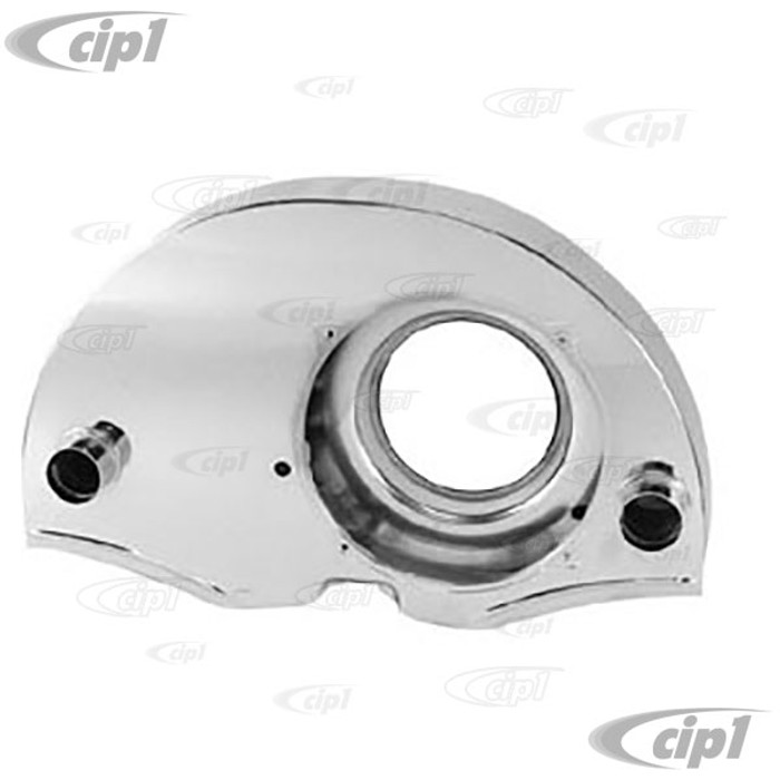 ACC-C10-5451 - ( EMPI 8892 ) 36HP CHROME FAN SHROUD WITH HEATER OUTLETS - ALL 12-1600CC BEETLE STYLE ENGINES - SOLD EACH