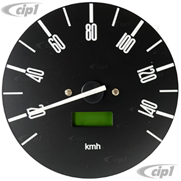 C34-EES7-1B02-05N - OE STYLE PROGRAMMABLE ELECTRONIC 140 KMH SPEEDOMETER WITH GREY FACE (SENSOR - WIRING HARNESS INCLUDED) - BUS 76-79